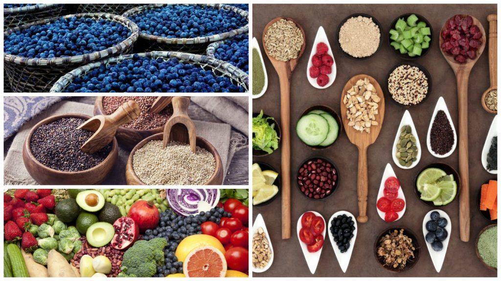 Super alimentos sanos